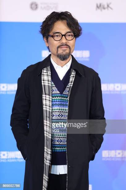 Actor Gordon Lam Ka Tung attends the premiere of film 'The Brink' on November 2 2017 in Hong Kong China