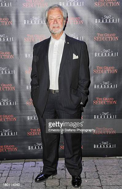 Actor Gordon Pinsent attends 'The Grand Seduction' after party at Brassaii restaurant and lounge on September 8 2013 in Toronto Canada