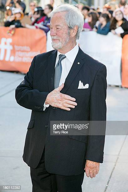 Actor Gordon Pinsent attends 'The Grand Seduction' premiere during the 2013 Toronto International Film Festival at Roy Thomson Hall on September 8...