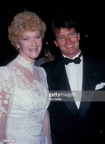 Actor Gordon Thomson and actress Linda Thorson attending 13th Annual People's Choice Awards on March 15 1987 at the Santa Monica Civic Auditorium in...