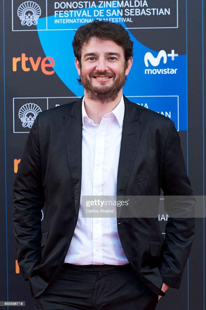 Actor Gorka Otxoa on the red carpet for the premiere of the Netflix Film 'Fe De Etarras' at San Sebastian International Film Festival 2017 on September 29, 2017 in San Sebastian, Spain.