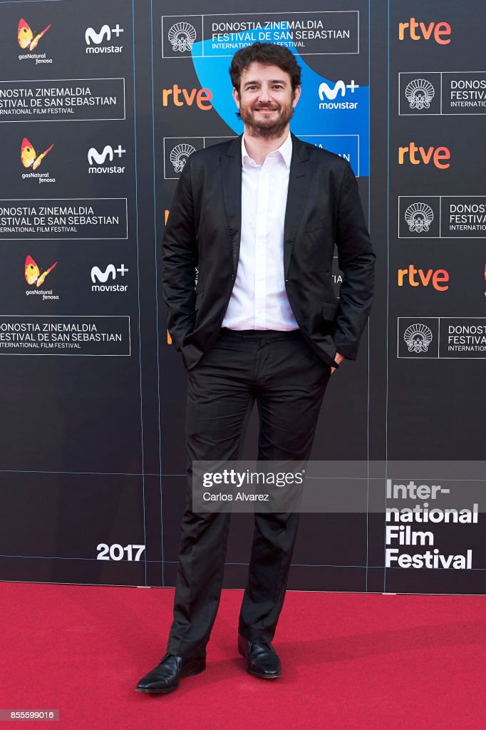 Actor Gorka Otxoa on the red carpet for the premiere of the Netflix Film 'Fe De Etarras' at San Sebastian International Film Festival 2017 on September 29, 2017 in San Sebastian, Spain.