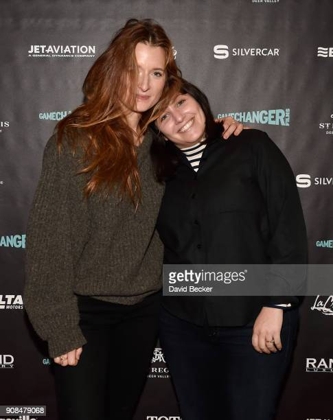 Actor Grace Gummer and director Hannah Fidell attends the Gamechanger Films reception at the RAND Luxury Escape during the 2018 Sundance Film...