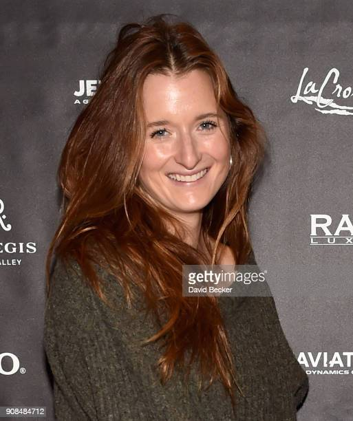 Actor Grace Gummer attends the Gamechanger Films reception at the RAND Luxury Escape during the 2018 Sundance Film Festival at The St Regis Deer...