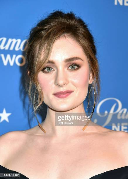 Actor Grace Victoria Cox attends Paramount Network launch party at Sunset Tower on January 18 2018 in Los Angeles California