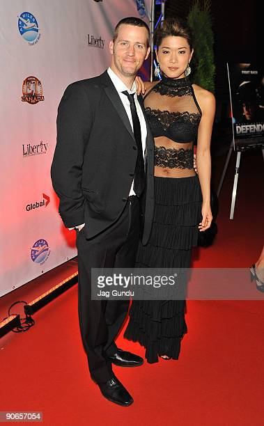 Actor Graham Abbey and actress Grace Park attend the Defendor premiere after party during the Toronto International Film Festival on September 12...