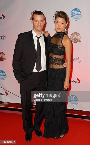Actor Graham Abbey and actress Grace Park attend the Entertainment Tonight Party during the 2009 Toronto International Film Festival on September 12...