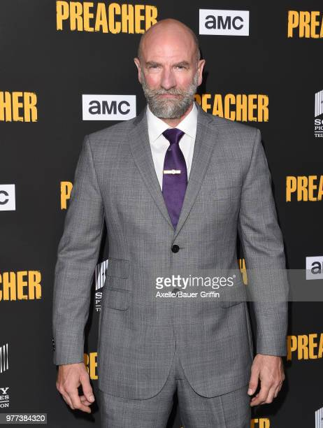 Actor Graham McTavish arrives at AMC's 'Preacher' Season 3 Premiere Party at The Hearth and Hound on June 14 2018 in Los Angeles California