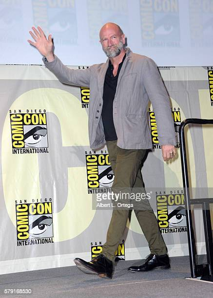 Actor Graham McTavish attends AMC's Preacher panel during ComicCon International 2016 at San Diego Convention Center on July 22 2016 in San Diego...