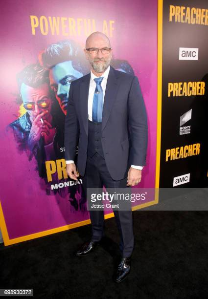 Actor Graham McTavish attends AMC's Preacher Season 2 Premiere at the Theater at the Ace Hotel on June 20 2017 in Los Angeles California