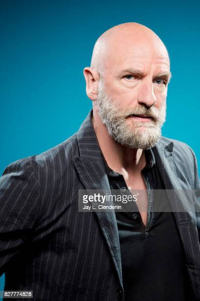 Actor Graham McTavish from the television series Preacher is photographed in the LA Times photo studio at ComicCon 2017 in San Diego CA on July 21...