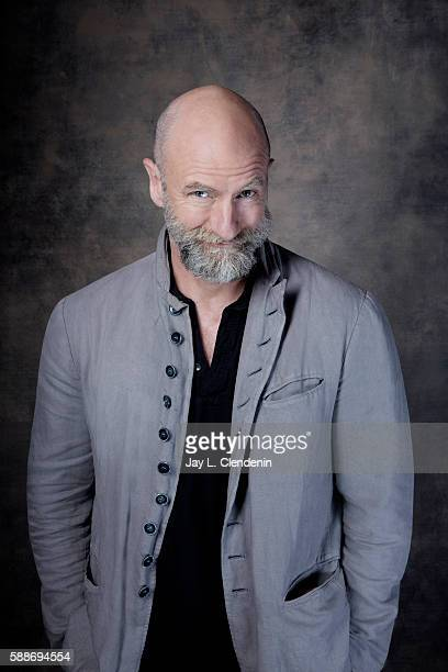 Actor Graham McTavish of 'Preacher' is photographed for Los Angeles Times at San Diego Comic Con on July 22 2016 in San Diego California