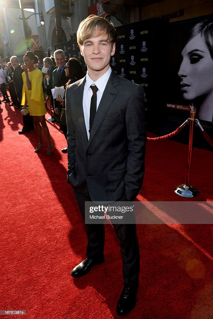 Actor Graham Patrick Martin attends the 'Funny Girl' screening during the 2013 TCM Classic Film Festival Opening Night at TCL Chinese Theatre on April 25, 2013 in Los Angeles, California. 23632_007_MB_0722.JPG