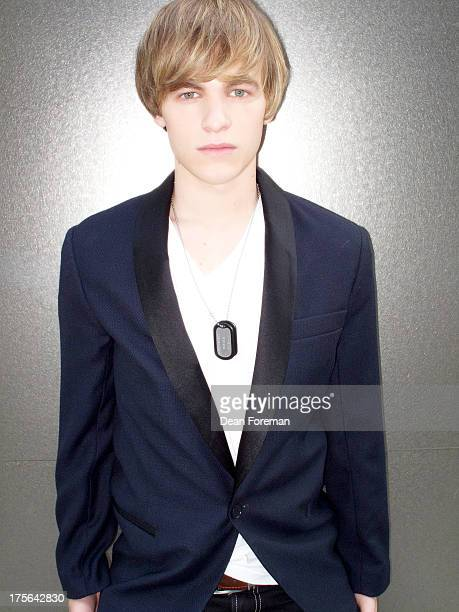 Actor Graham Patrick Martin is photographed for Self Assignment on October 16 2010 in Los Angeles California