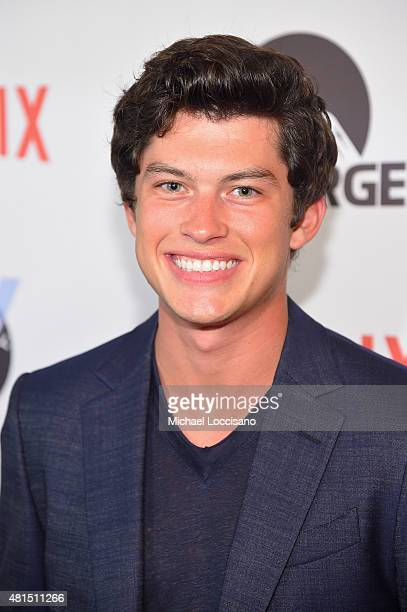 Actor Graham Philips attends the Staten Island Summer New York Premiere at Sunshine Landmark on July 21 2015 in New York City