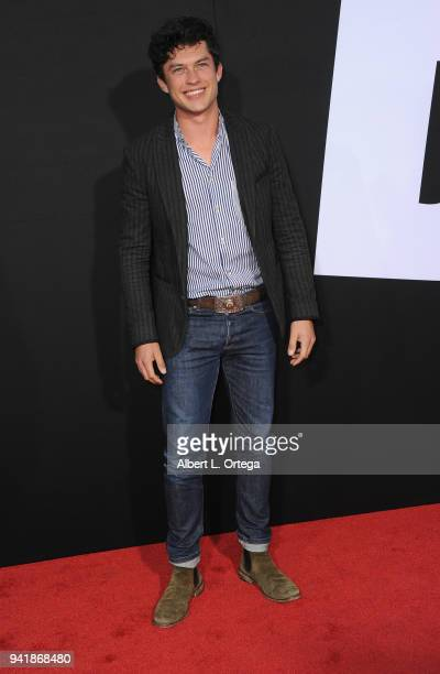 Actor Graham Phillips arrives for the Premiere Of Universal Pictures' Blockers held at Regency Village Theatre on April 3 2018 in Westwood California