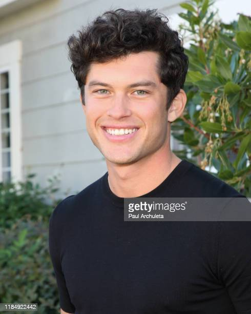 Actor Graham Phillips visits Hallmark Channel's Home Family at Universal Studios Hollywood on November 01 2019 in Universal City California