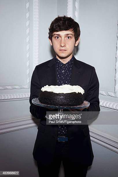 109772011 Actor Graig Roberts is photographed for Madame Figaro on April 28 2014 in London England Suit and shirt belt PUBLISHED IMAGE CREDIT MUST...