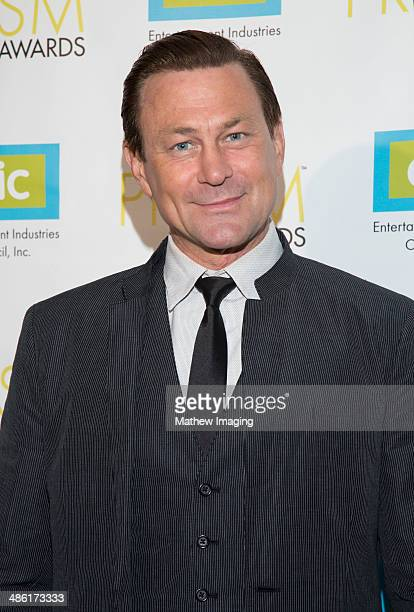 Actor Grant Bowler arrives at the 18th Annual PRISM Awards at Skirball Cultural Center on April 22, 2014 in Los Angeles, California.