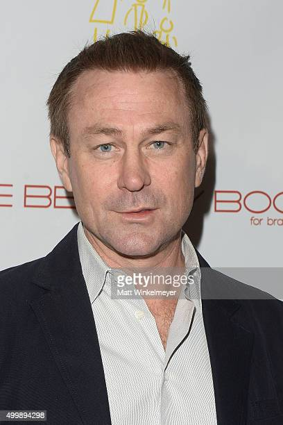 """Actor Grant Bowler arrives at """"The Beauty Book For Brain Cancer"""" Edition 2 Launch Party at Le Jardin on December 3, 2015 in Hollywood, California."""