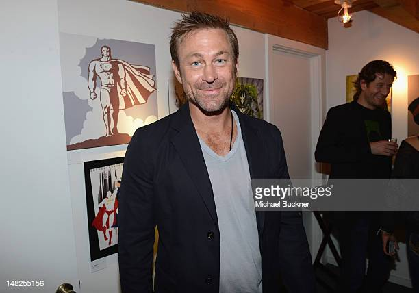 Actor Grant Bowler attends DC Entertainment hosts Darkness Light party at San Diego ComicCon International benefitting We Can Be Heroes held at...