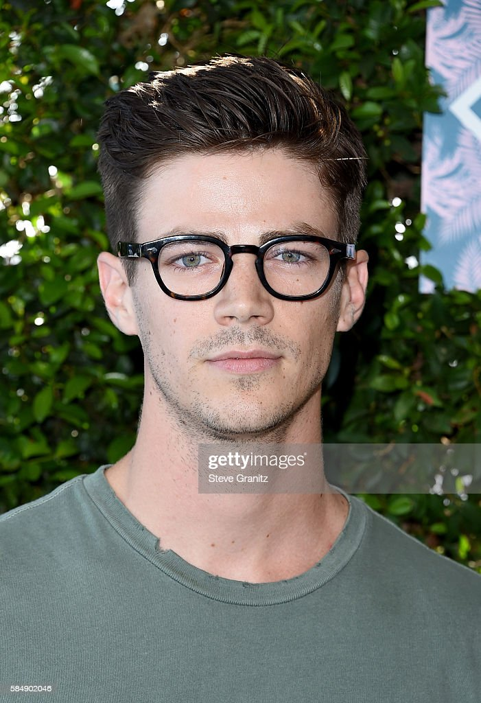 Actor Grant Gustin attends Teen Choice Awards 2016 at The Forum on July 31, 2016 in Inglewood, California.