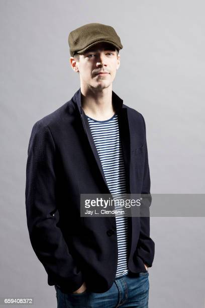 Actor Grant Gustin from the CW's 'The Flash' is photographed for Los Angeles Times on March 18 2017 in Los Angeles California PUBLISHED IMAGE CREDIT...