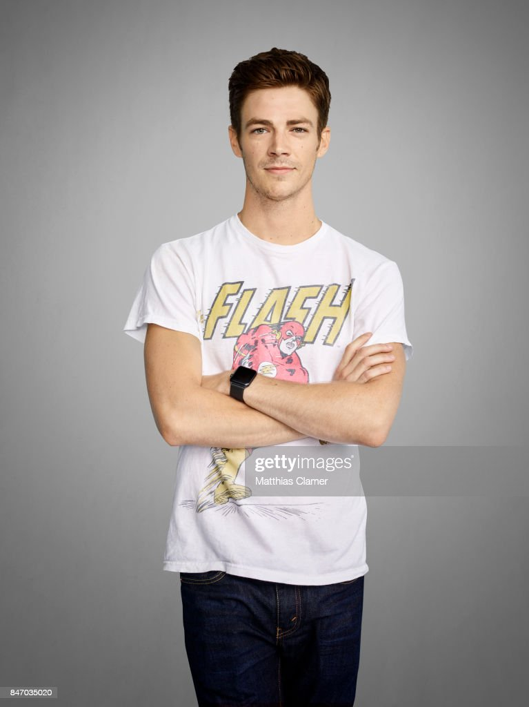 Actor Grant Gustin from 'The Flash' is photographed for Entertainment Weekly Magazine on July 23, 2016 at Comic Con in the Hard Rock Hotel in San Diego, California.