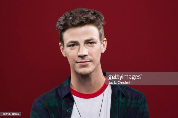 Actor Grant Gustin from 'The Flash' is photographed for Los Angeles Times on July 21 2018 in San Diego California PUBLISHED IMAGE CREDIT MUST READ...