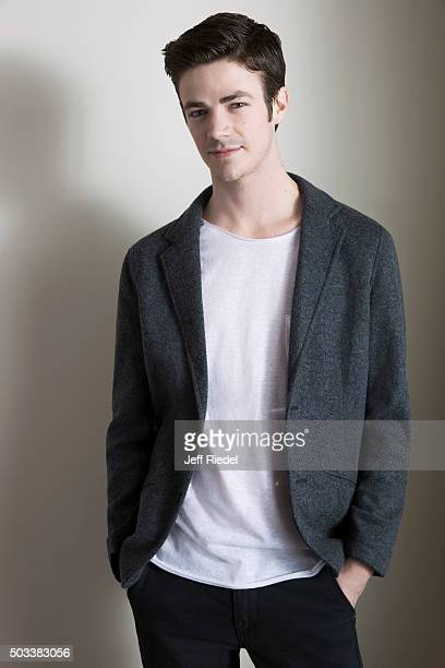 Actor Grant Gustin is photographed for TV Guide Magazine on January 17 2015 in Pasadena California