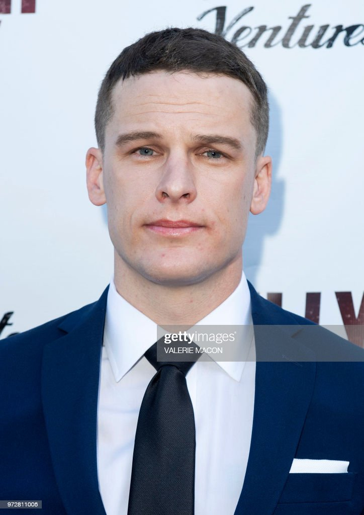 Actor Grant Harvey attends the Los Angeles Premiere of Billy Boy, at the Laemmle Music Hall on June 12, 2018, in Beverly Hills, California.