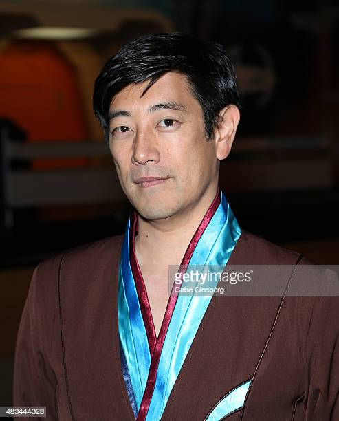 Actor Grant Imahara attends the 14th annual official Star Trek convention at the Rio Hotel Casino on August 8 2015 in Las Vegas Nevada