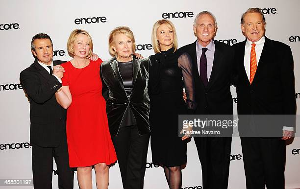 Actor Grant Shaud creator Diane English actors Candice Bergen Faith Ford Joe Regalbuto and Charles Kimbrough attend the 'Murphy Brown' a 25th...