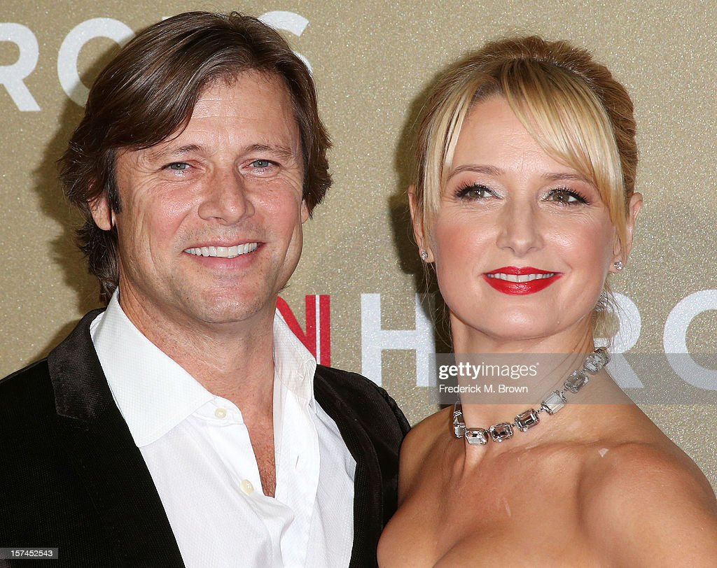 Actor Grant Show (L) and actress Katherine LaNasa attend the CNN Heroes: An All Star Tribute at The Shrine Auditorium on December 2, 2012 in Los Angeles, California.