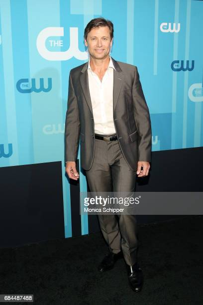 Actor Grant Show attends the 2017 CW Upfront on May 18 2017 in New York City