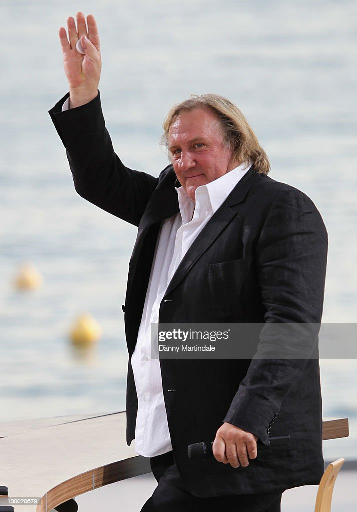 Actor G�rard Depardieu attends the 63rd Cannes Film Festival on May 20, 2010 in Cannes, France.
