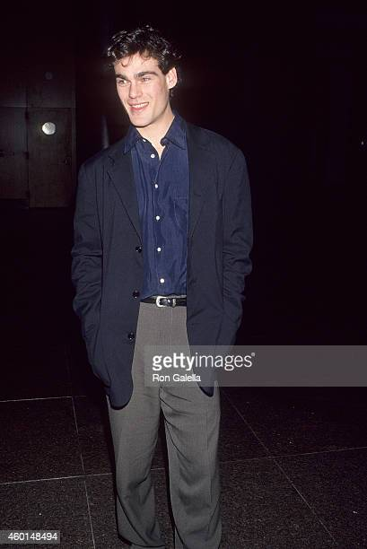 Actor Grayson McCouch attends the Rain Without Thunder West Hollywood Premiere on February 3 1993 at the DGA Theatre in West Hollywood California