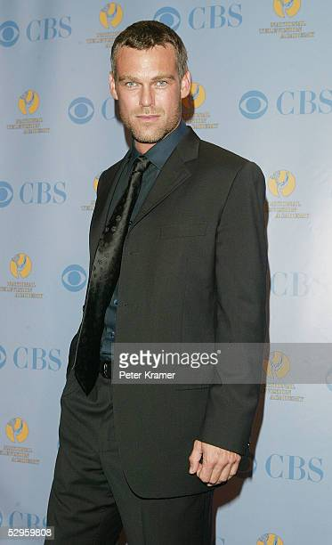 Actor Grayson McCouch poses in the press room at the 32nd Annual Daytime Emmy Awards at Radio City Music Hall May 20 2005 in New York City