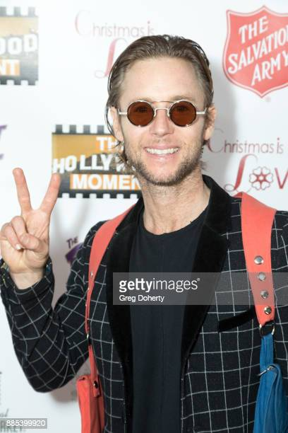 Actor Greg Cipes attends The Salvation Army Celebrity Kettle Kickoff Red Kettle Hollywood at the Original Farmers Market on November 30 2017 in Los...
