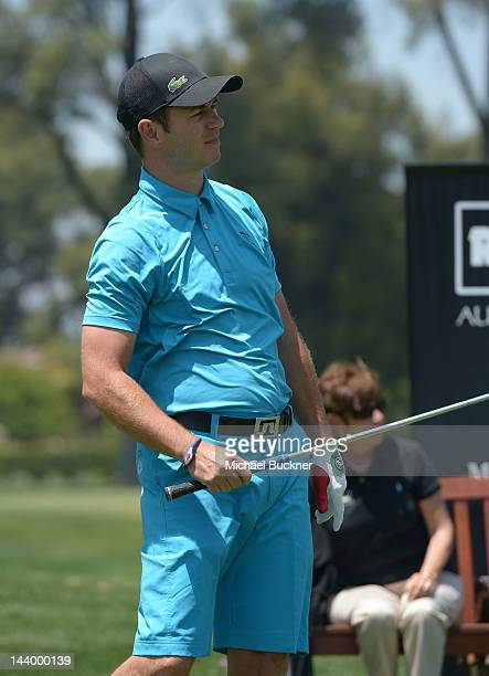 Actor Greg Ellis attends the 5th Annual George Lopez Celebrity Golf Classic to Benefit The Lopez Foundation at Lakeside Golf Club on May 7 2012 in...