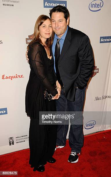Actor Greg Grunberg and his wife Elizabeth Dawn Wershow arrive at the Hollywood Entertainment Museum's Hollywood Legacy Awards XI honoring the cast...