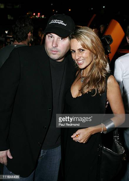 Actor Greg Grunberg and television personality Patricia Kara attend Lamborghini Opening to Benefit the Epilepsy Foundation on November 14 2007 in...