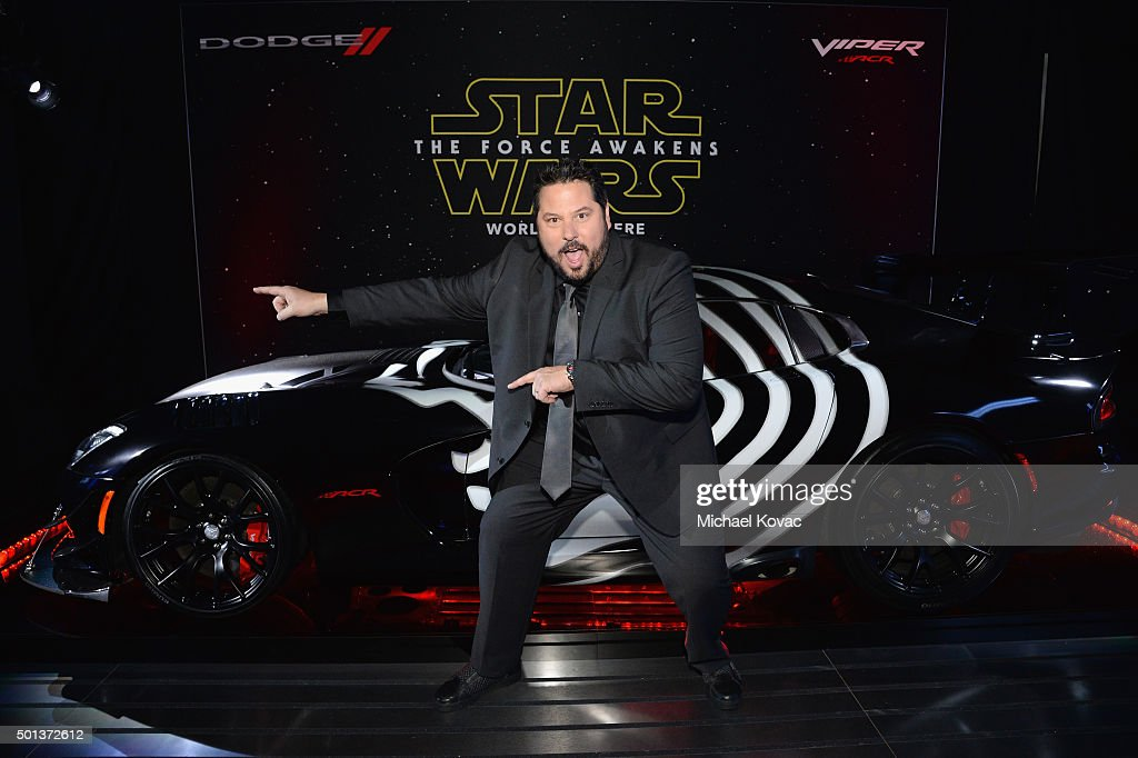 Actor Greg Grunberg arrives at the premiere of Walt Disney Pictures' and Lucasfilm's 'Star Wars: The Force Awakens', sponsored by Dodge, at the Dolby Theatre, TCL Chinese Theatre and El Capitan Theatre on December 14, 2015 in Hollywood, California.