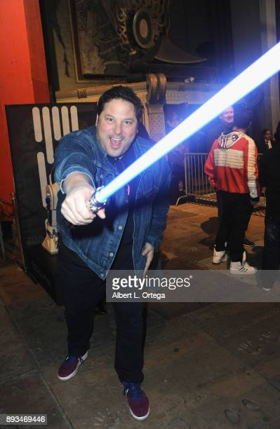 Actor Greg Grunberg at the Opening Night Celebration Of Walt Disney Pictures And Lucasfilm's 'Star Wars The Last Jedi' At TCL Chinese Theatre held at...