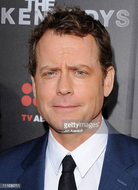 """Actor Greg Kinnear arrives at the Los Angeles Premiere """"The Kennedys"""" at AMPAS Samuel Goldwyn Theater on March 28, 2011 in Beverly Hills, California."""