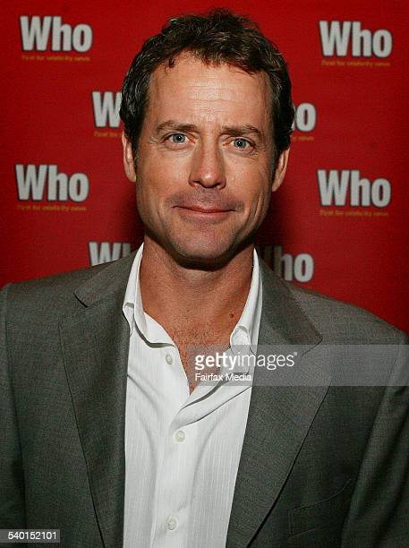 Actor Greg Kinnear at the 'Little Miss Sunshine' film premiere afterparty at the Arena Bar in the Entertainment Quarter Moore Park Sydney 5 October...