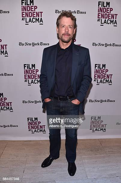 "Actor Greg Kinnear attends Film Independent at LACMA's Special Screening and Q&A of ""Little Men"" at The Bing Theatre At LACMA on July 28, 2016 in Los..."