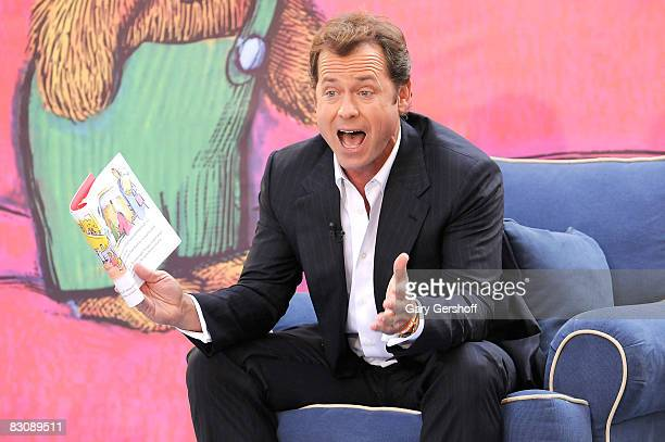 Actor Greg Kinnear attends Jumpstart's Read for the Record at The Today Show on October 2 2008 in New York City