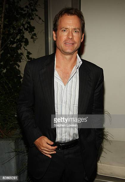 "Actor Greg Kinnear attends the after party for ""Ghost Town"" hosted by The Cinema Society at The Soho Grand Hotel on September 15, 2008 in New York..."