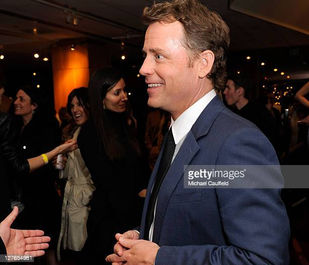"Actor Greg Kinnear attends the after party for ""The Kennedys"" world premiere held at AMPAS Samuel Goldwyn Theater on March 28, 2011 in Beverly Hills,..."